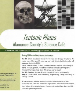 Tectonic Plates: Science Cafe